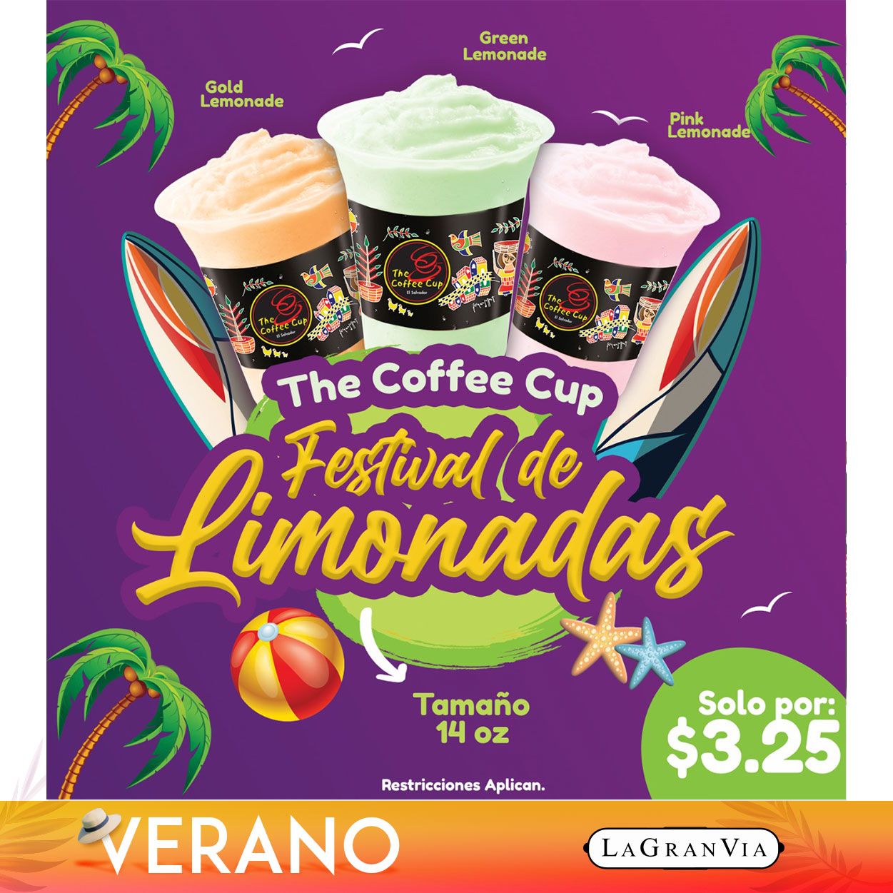 The Coffee Cup - Festival Limonadas