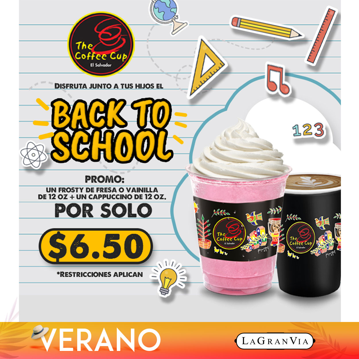 The Coffee Cup - Back To School